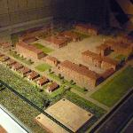 Model of barracks