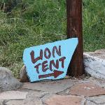 nuestra lion tent