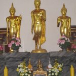 the three Image of Buddhas