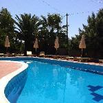 Swimming pool at Hara