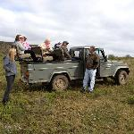 Safari Ride with the incredible and funny guides Chris and Elmarie