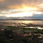 Nairn beach sunset Aug2012