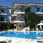 foto hotel stratos dalla piscina