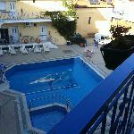 balcincino vista piscina