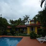 piscine et chambres