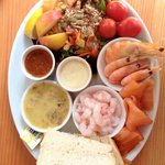 one of our fish platters