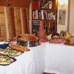 A BUFFET FIT FOR ROYALTY AT THE KINGS ARMS