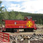Caboose No. 2 (main road behind it)