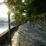 A sunset stroll into Orta San Giulio from Villa Crespi