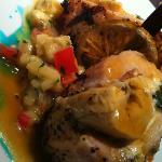 Chicken dish at Los Murales