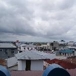 Vistas desde la terraza del tejado