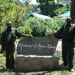 Maina and Ngei, our guides