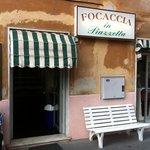 Focaccia in Piazzetta