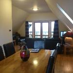 Living / Dinning Room area in Glen Lyon Lodge