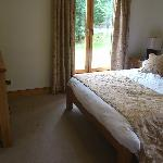 Master Bedroom in Glen Lyon Lodge