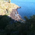 La spiaggia vista dall'alto!