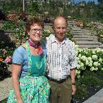 DeRosa B+B Anna and Benny DeRosa wonderful hosts