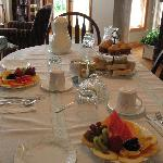DeRosa B+B Breakfast first course
