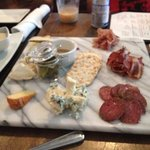 cheese & charcuterie plate $20