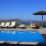 chilling at beautiful villa notos