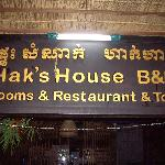 Hak's House before sunrise visit to Angkor Wat