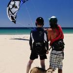 Learning to Launch the Kite