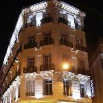 Facade hotel - Night view