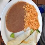 Chorizo taco plate
