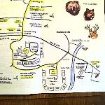 Map of the resort - was very handy.