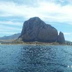 San Vito Lo Capo from sea