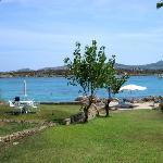 La spiaggia privata del B&B - ombrelloni e sdraio gratuite