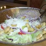magic salad bowl, we emptied it, but it filled right back up!