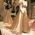 Art Nouveau wedding gown (temporary exhibit)