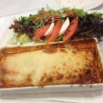 Oxtail Lasagna!  Yummy!