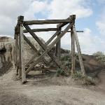old mine entrance (sealed)