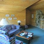 The common area outside your room