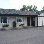 Outside view of Howe Cavern Motel