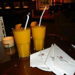 Yummy Mango Shakes..for Couple