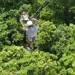 Part of Zip Line tour