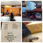 Hotel Exterior, Reception Area, Breakfast Menu