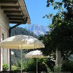 Terrasse der Ostaria Posta