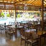 pool and restaurant; 10-july-2012