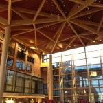 Beautiful mix of old with new at this symphony hall