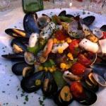 insalata di mare calda