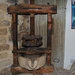 Un torchio antico