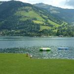 At the lake Strand Baden