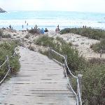 Sentiero per la spiaggia