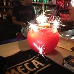 fish bowl at bar 60 Tl