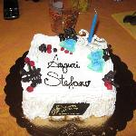 torta compleanno!