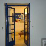 το δωμάτιο από τη βεράντα